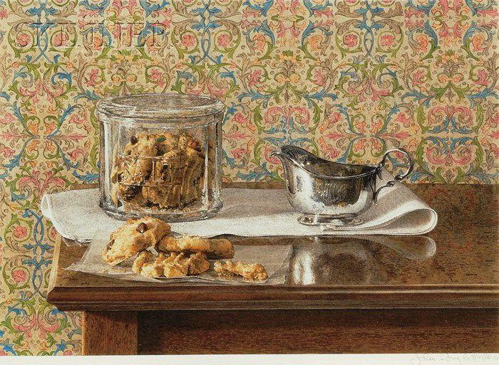 Still Life with Cookies - John Stuart Ingle