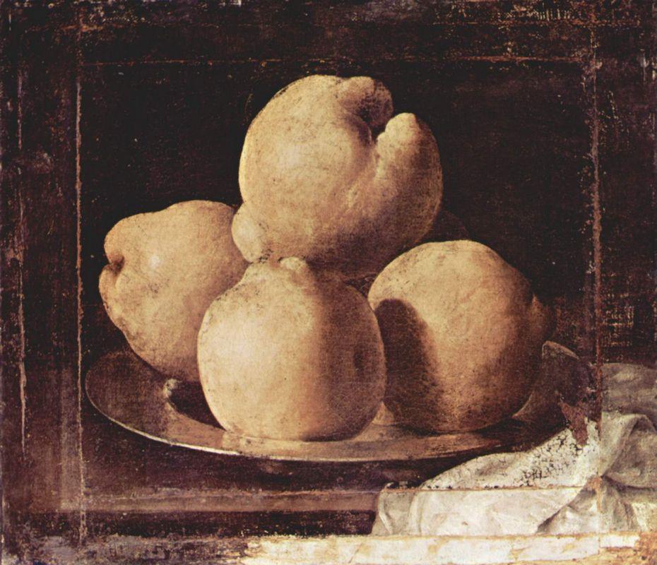 Still Life with Dish of Quince - Francisco de Zurbaran