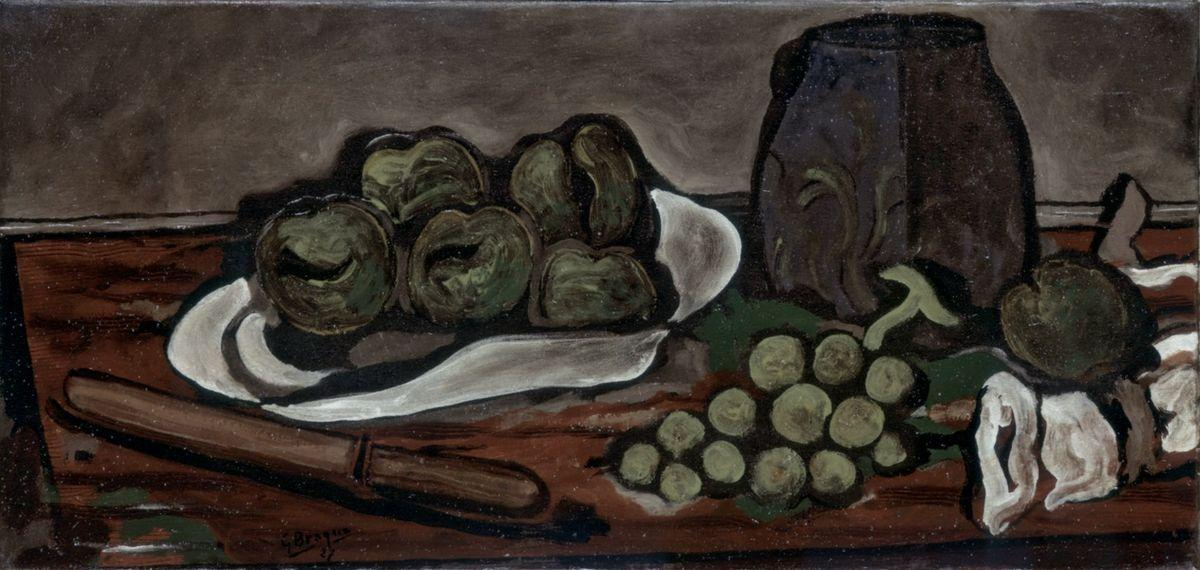 Still life with fruits - Georges Braque