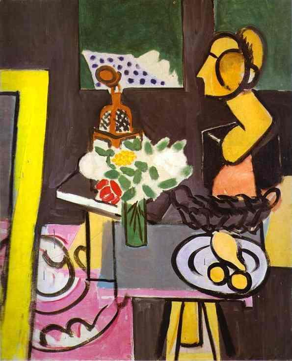 Still life with gourds - Henri Matisse
