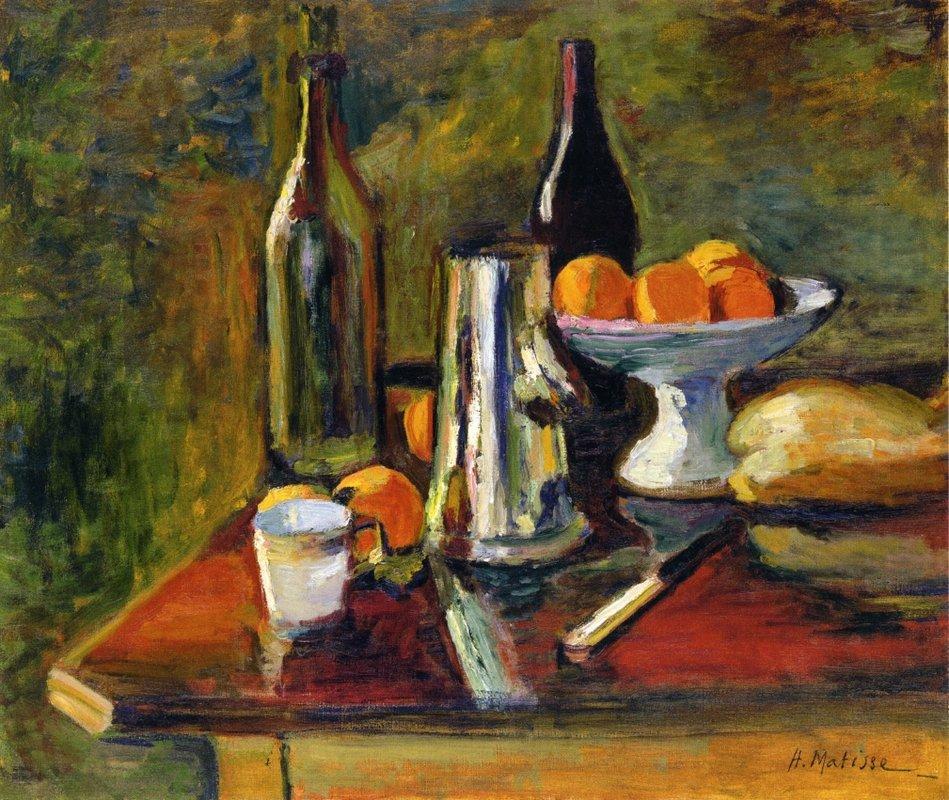 Still Life with Oranges - Henri Matisse