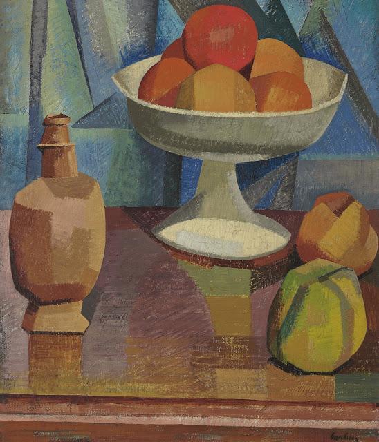 Still Life with Oranges  - Auguste Herbin
