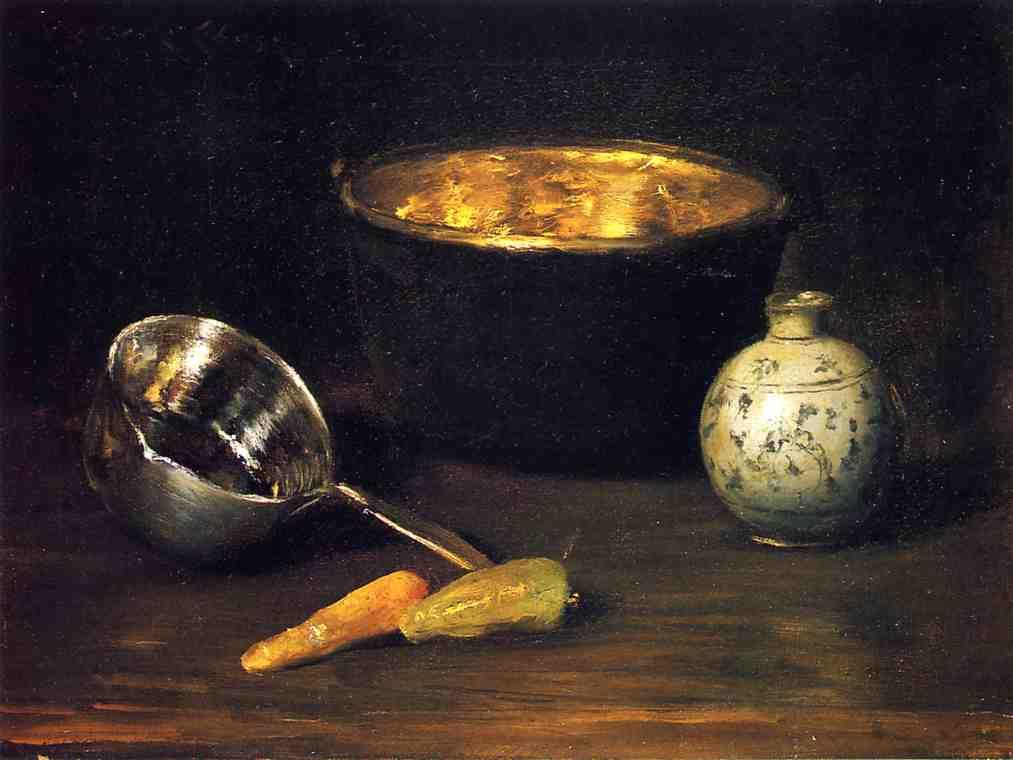 Still Life with Pepper and Carrot - William Merritt Chase