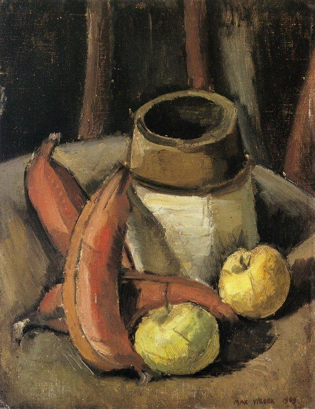 Still Life with Red Bananas - Max Weber