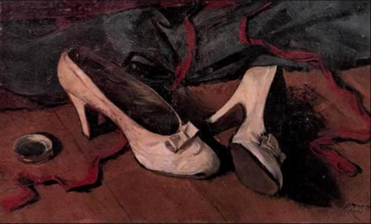 Still Life with Shoes - Yiannis Moralis