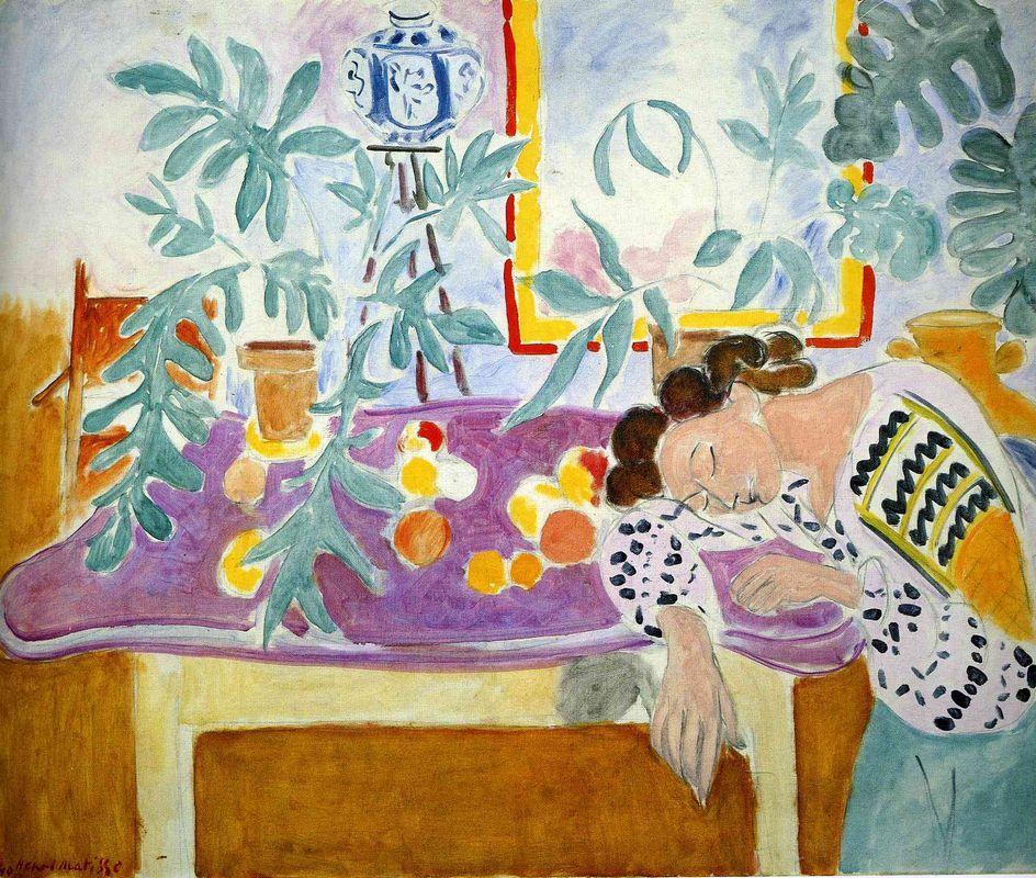 Still Life with sleeper - Henri Matisse