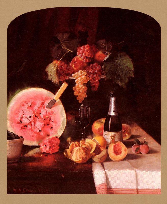 Still Life with Watermelon - Fernando Botero