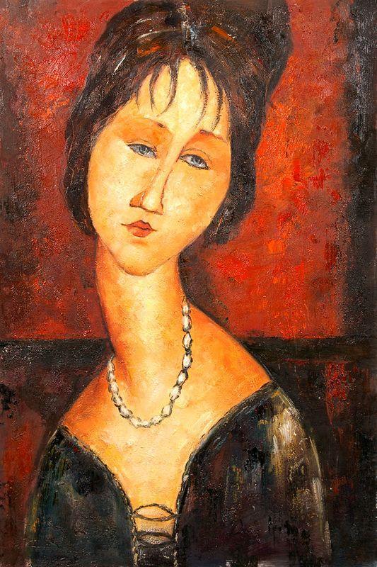 Stone Head - Amedeo Modigliani