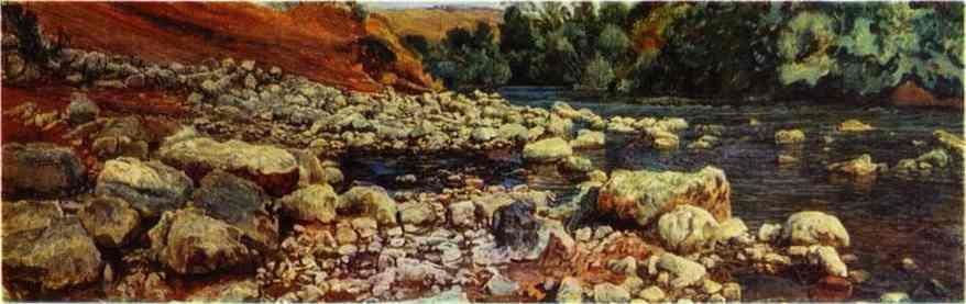 Stones on a River Shore - Alexander Ivanov