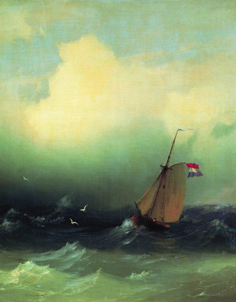 Storm at Sea - Ivan Aivazovsky