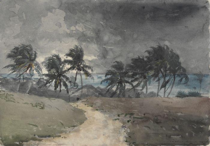 Storm, Bahamas - Winslow Homer