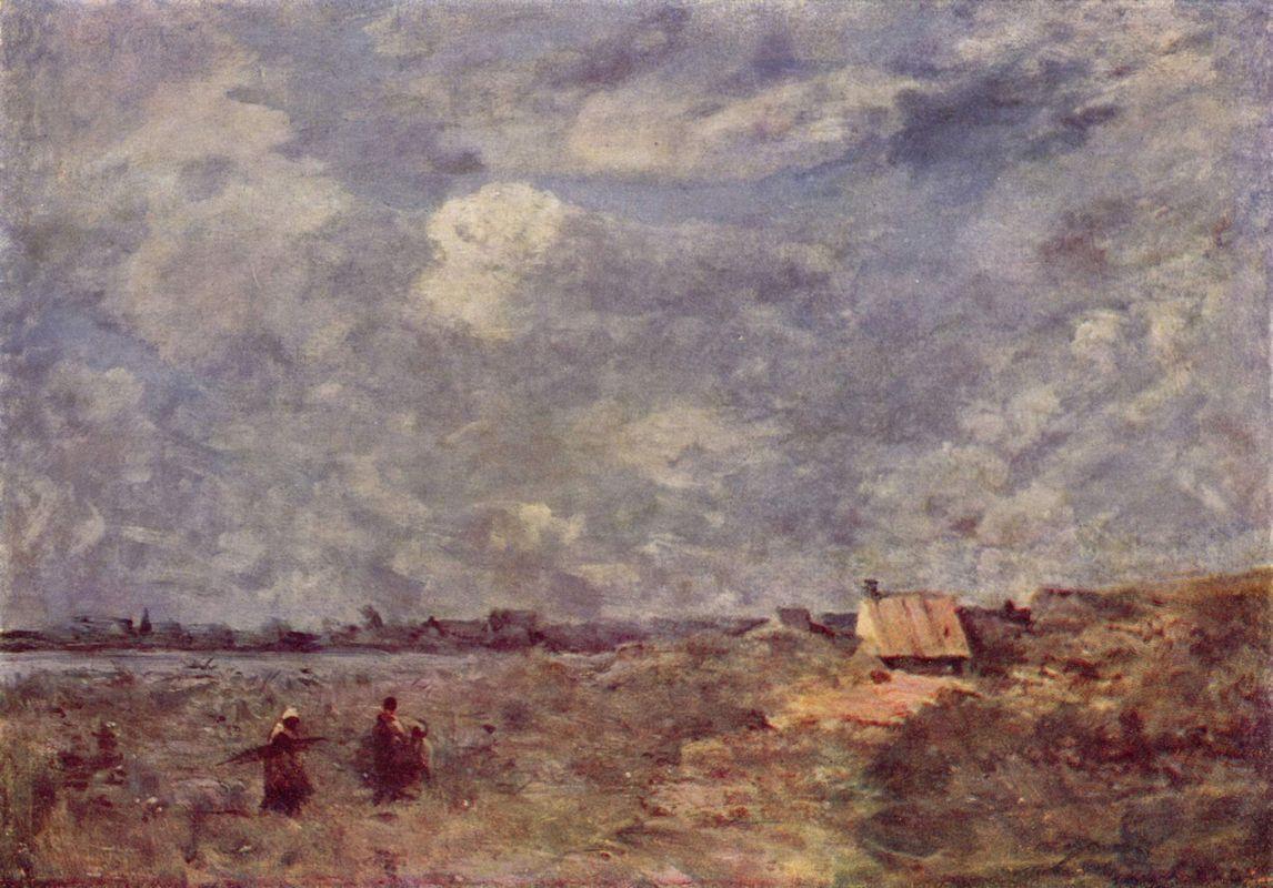 Stormy Weather, Pas de Calais - Camille Corot