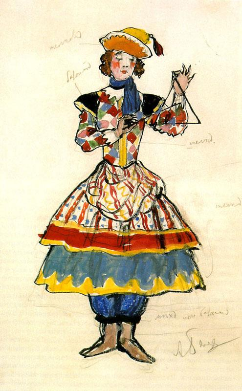 Street Dancer. Costume design - Alexandre Benois