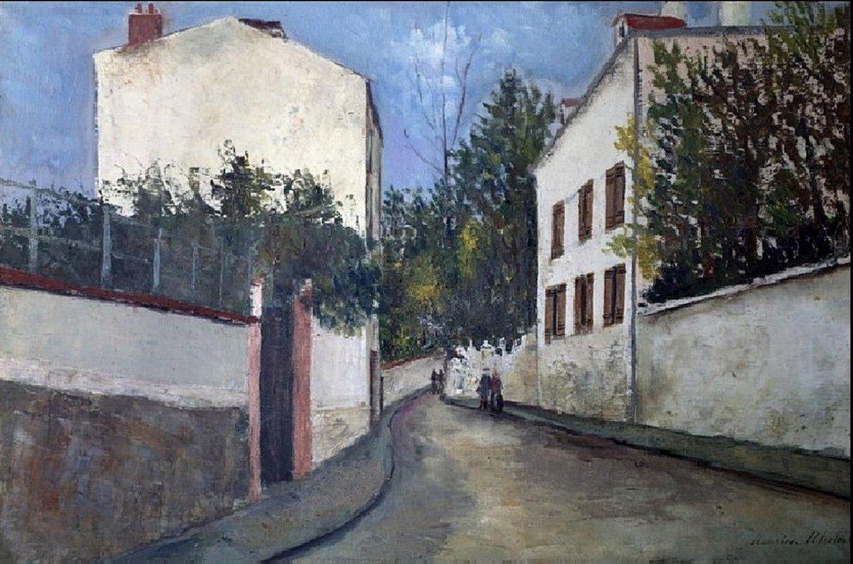 Street in Sannois - Maurice Utrillo