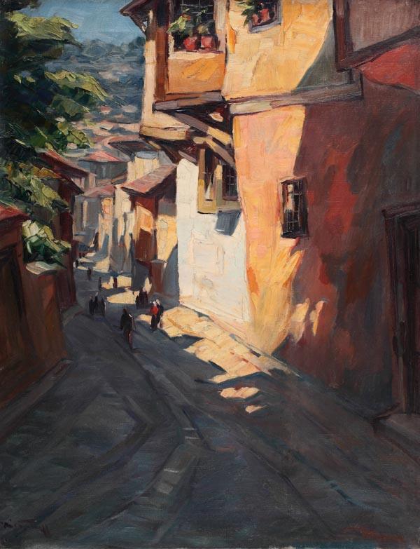 Street in Sofia - Nikola Tanev