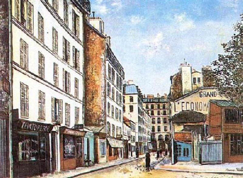 Street - Fernand Leger