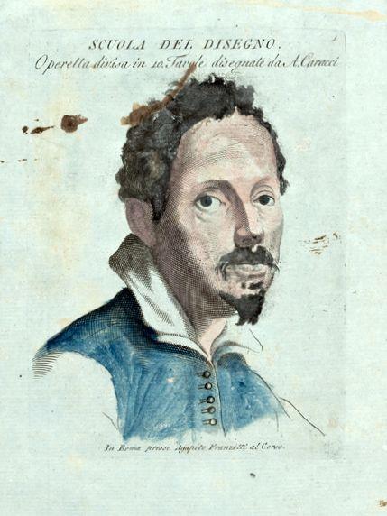 Studies of the Carracci Figure - Agostino Carracci
