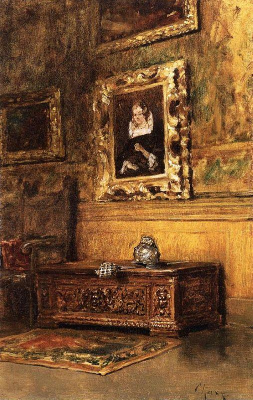 Studio Interior - William Merritt Chase