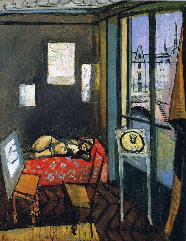 Studio, Quay of Saint-Michel - Henri Matisse