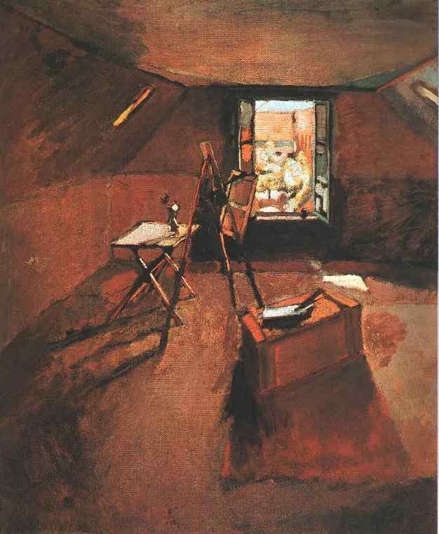 Studio under the Eaves  - Henri Matisse