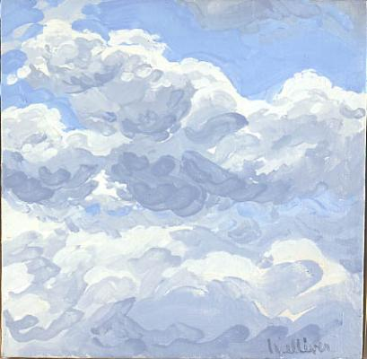 Study for Clouds II - Neil Welliver
