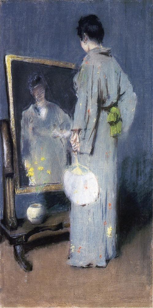 Study for Making Her Toilet  - William Merritt Chase