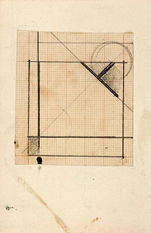 Study for Simultaneous compositions XXII - Theo van Doesburg