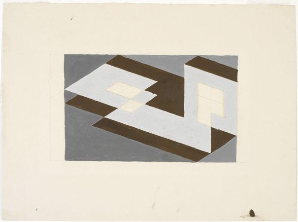 Study for Tenayuca - Josef Albers