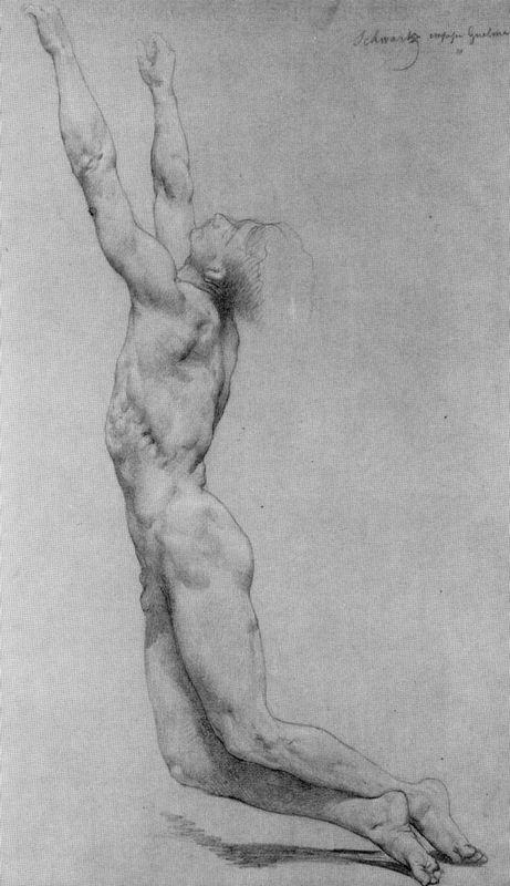 Study for The Flagellation of Christ - William-Adolphe Bouguereau