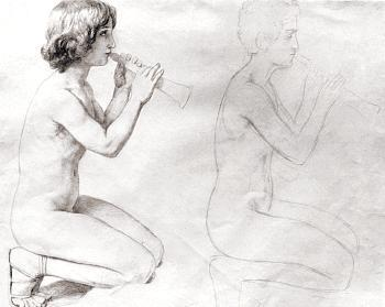 Study for the painting,