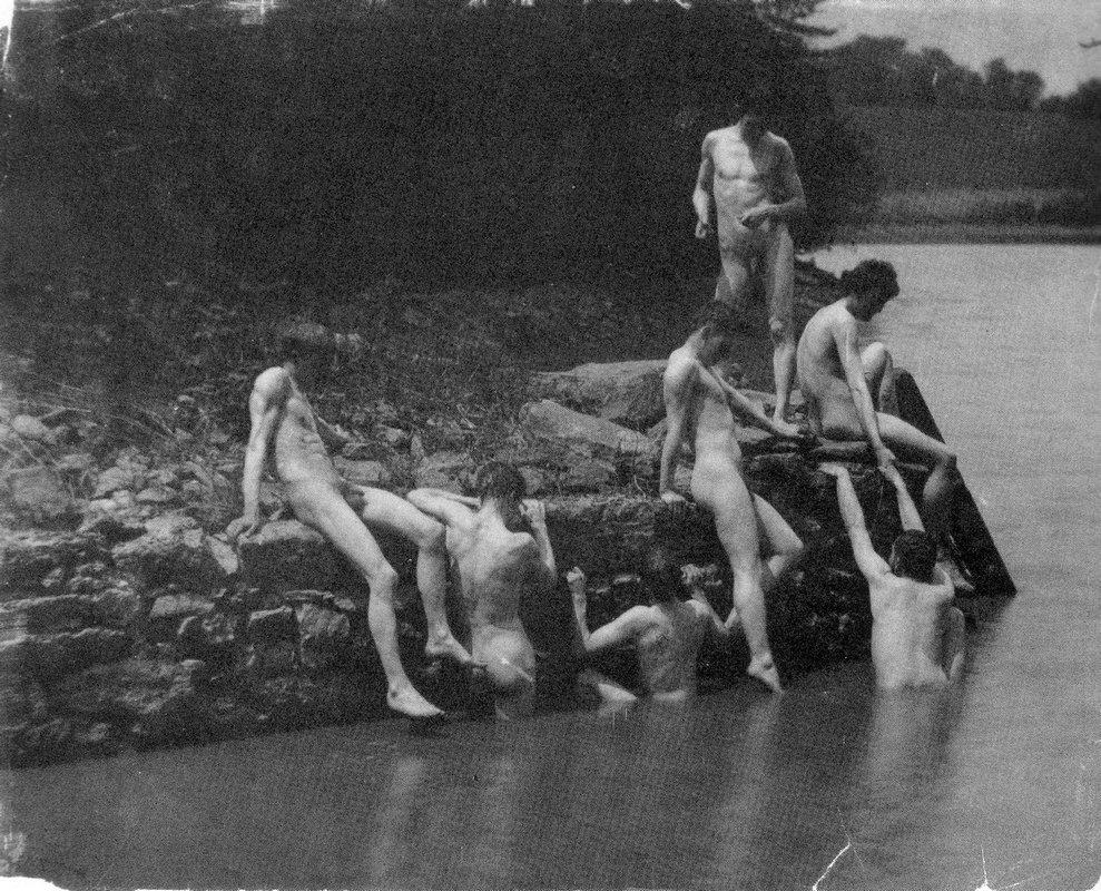 Study for The Swimming Hole - Thomas Eakins