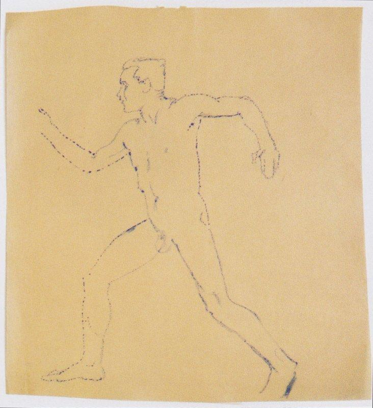 Study for The Wanderer - Koloman Moser