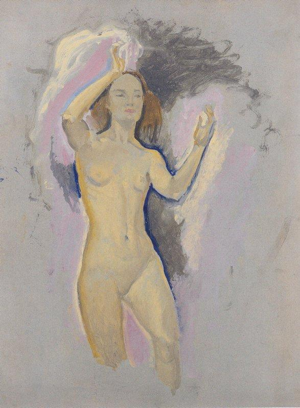 Study for Venus in the Grotto - Koloman Moser