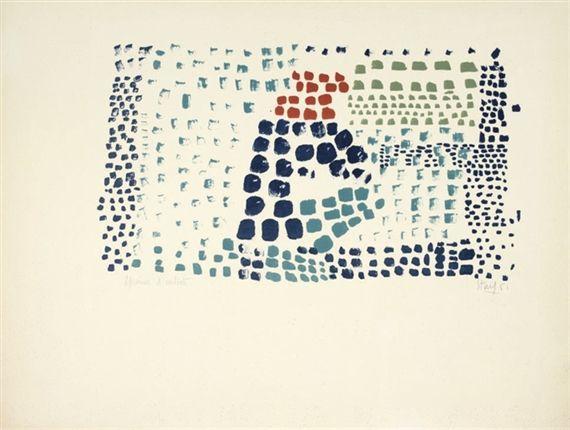 Study in Colour No. 1 (Woimant Stael 93) - Nicolas de Stael