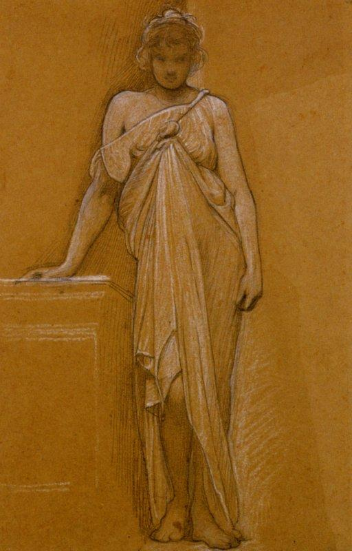 Study of a Classical Maiden - William Blake
