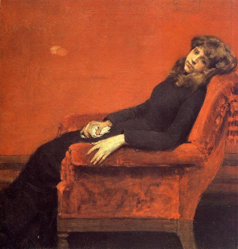 Study of a Young Girl - William Merritt Chase