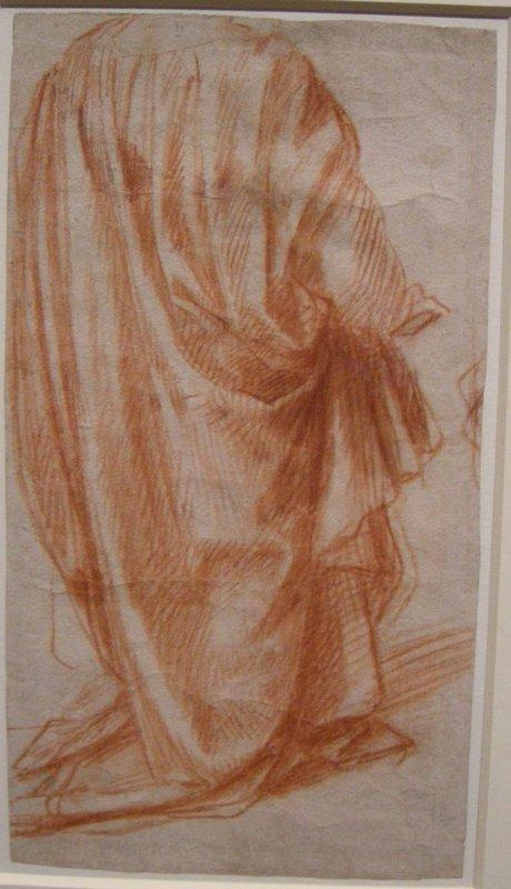 Study of Drapery - Andrea del Sarto
