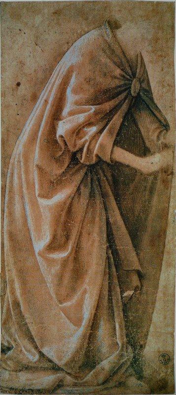 Study of Garments - Domenico Ghirlandaio