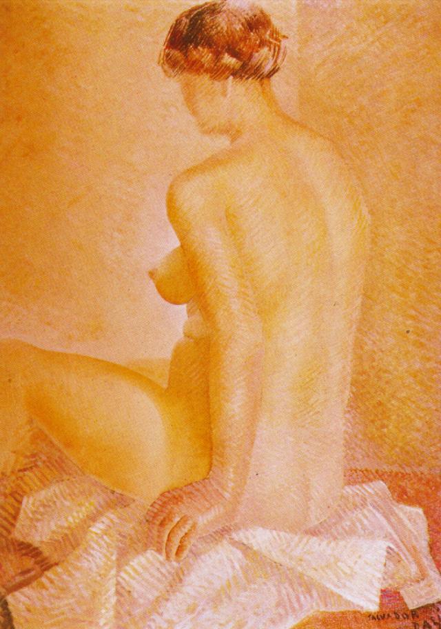 Study of Nude - Salvador Dali