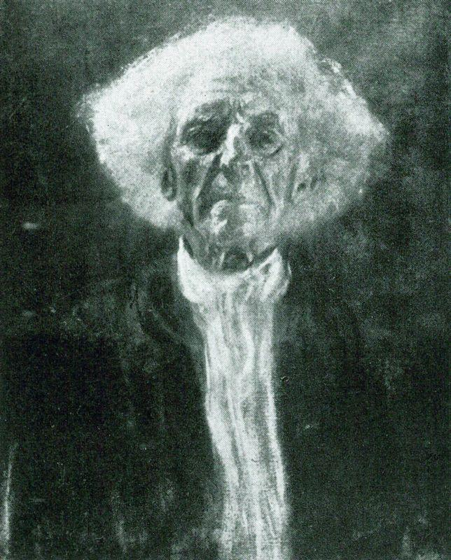 Study of the Head of a Blind Man - Gustav Klimt