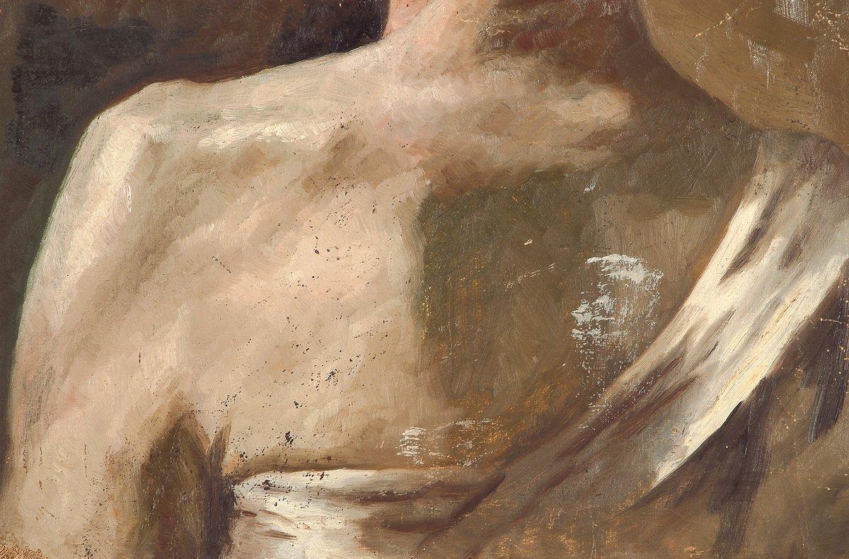 Study of torso - Nicholas Roerich