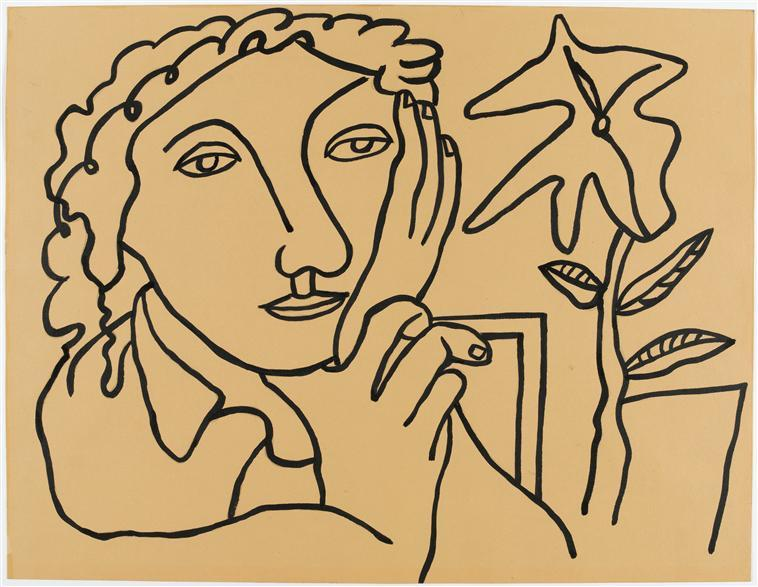 Study of Women at the plant  - Fernand Leger