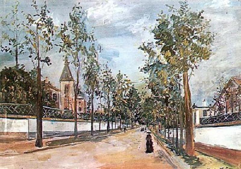 Suburban Road  - Maurice Utrillo