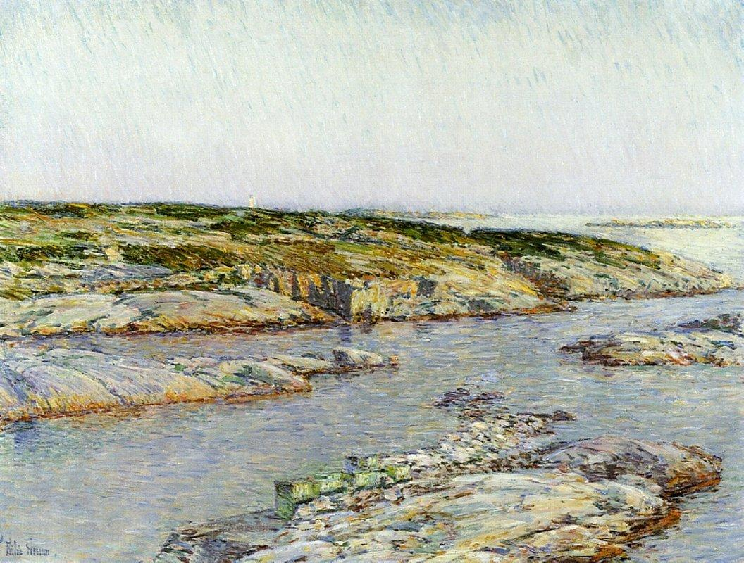 Summer Afternoon, Isles of Shoals - Childe Hassam