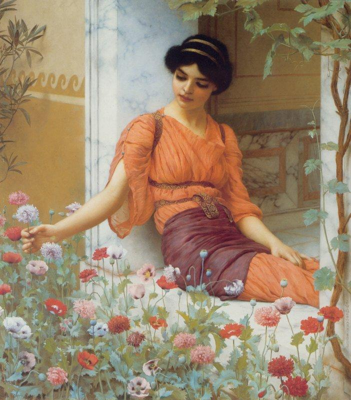 Summer Flowers - John William Godward