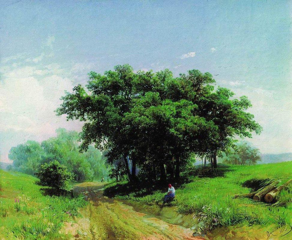 Summer Hot Day - Fyodor Vasilyev