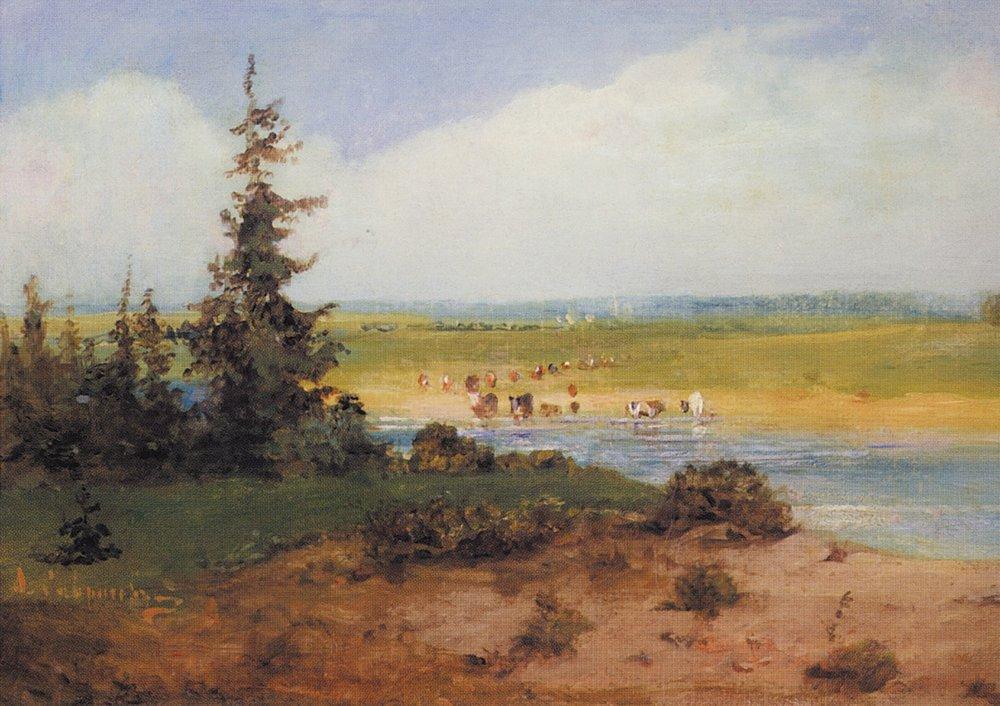 Summer Landscape - Aleksey Savrasov