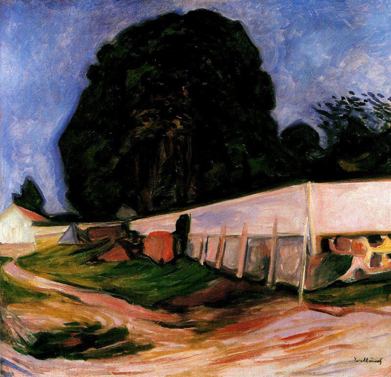 Summer Night at Aasgaardstrand - Edvard Munch