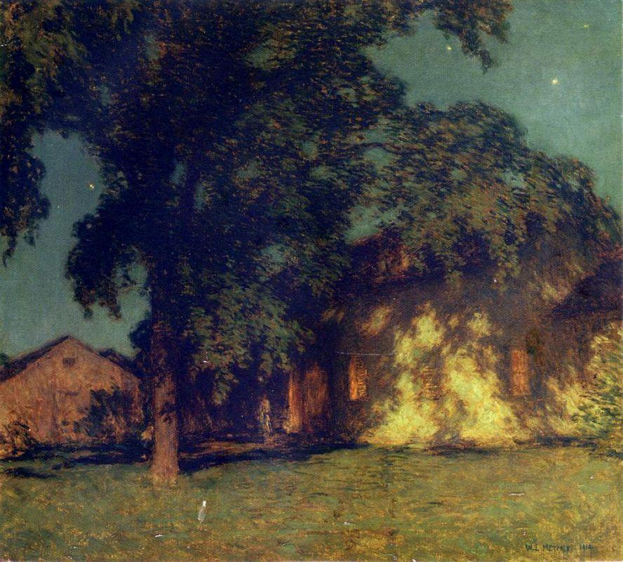 Summer Night (No. 2) - Willard Metcalf