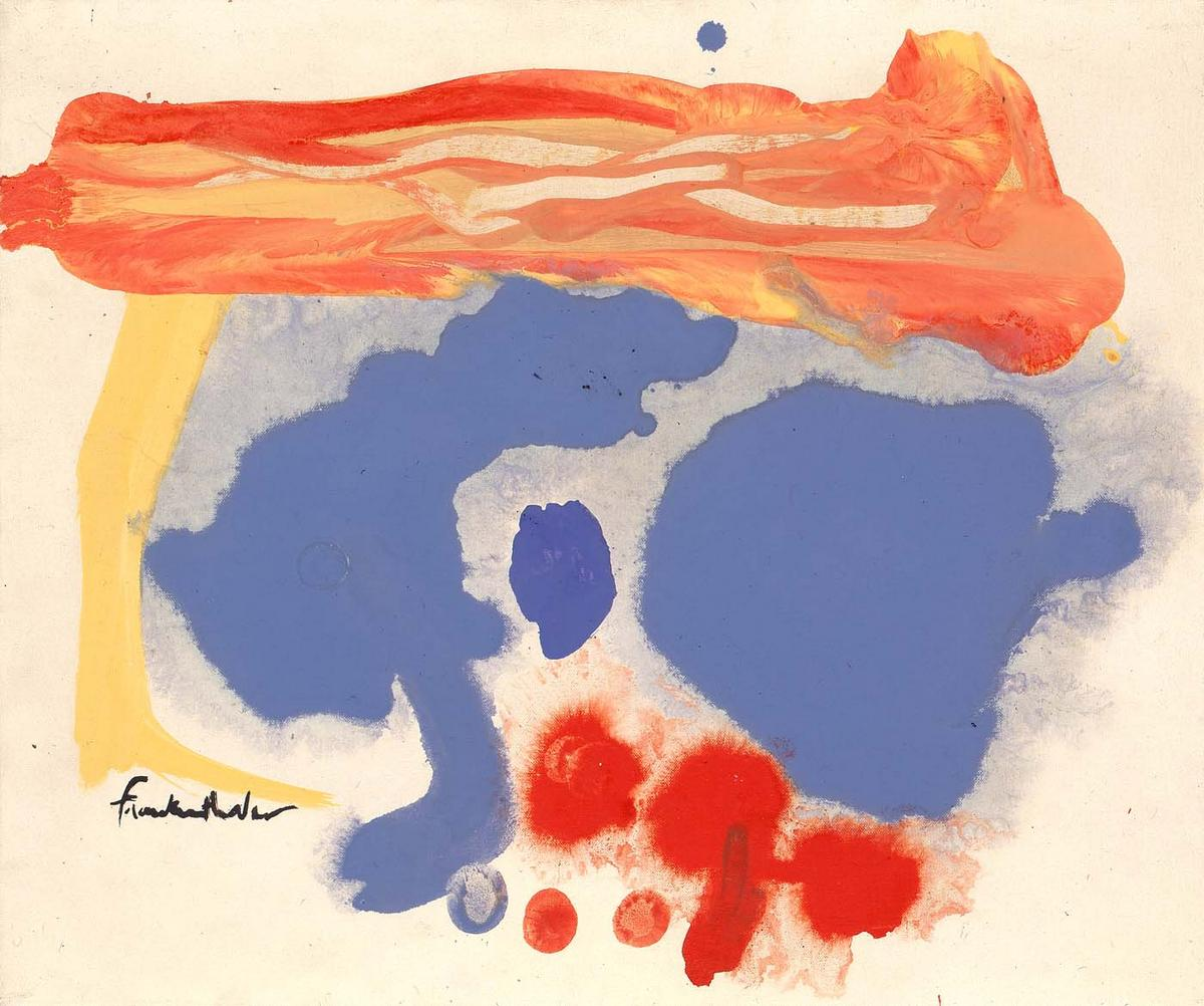 Summerscene, Provincetown - Helen Frankenthaler